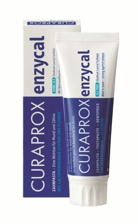Curaprox Enzycal Toothpaste 950ppm Fluoride No Sls Daily