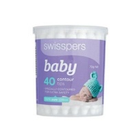 SWISSPERS BABY CARE COTTON TIPS 40'S