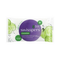 SWISSPERS FACIAL WIPE CUCUMBER 5'S - TRAVEL