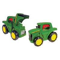 John Deere Tractor Torch featuring free-rolling wheels 18 months +