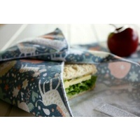 4MyEarth Sandwich Wrap - Reusable Sustainable Handmade 100% Cotton Canvas