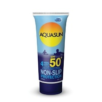 Aquasun 4 Hours Water Resistant Dry Touch Sunscreen Lotion SPF 50+ 200ml Tube