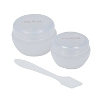 MANICARE COSMETIC JARS  PK2 WITH SPATULA