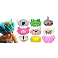Annabel Trends Animal Shower Caps 17 Options Kids Bath Hair Cover