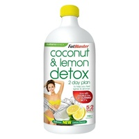 FatBlaster Coconut Detox Lemon 2 Day Plan Concentrate 750ml; Flush Out Toxins