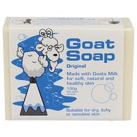 Australian Goats Soap for Dry Itchy Sensitive Skin, Eczema, Dermatitis, Rashes