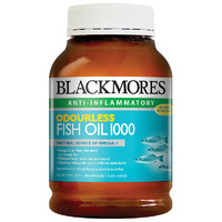 Blackmores Odourless Fishoil 1000mg - 400 Capsules