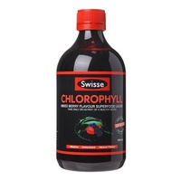 Swisse Ultiboost Chlorophyll Mixed Berry 500ml Antioxidant Natural Flavour