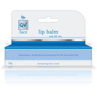 Ego QV Face Lip Balm With SPF 30+ 15g- Fragrance colour lanolin and flavour free