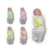 Baby Studio 100% Cotton Swaddlewrap Small - 5 Designs Swaddle Wrap
