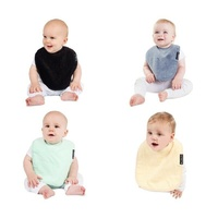 Mum2mum Baby Standard Wonder Bibs Super Absorbent 100% Cotton Varied Colour