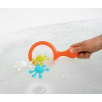Boon Bath Toys WATER BUGS - Orange Multicolor developing dexterity
