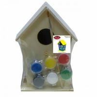 Boyle Birdhouse Paint Kit - Perfect for Arts and Craft