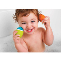 Boon Bath Tub Scrubble Fun Baby Toys (set of 3) - 2 Options