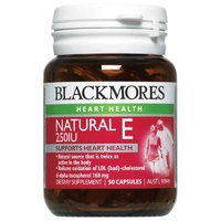 Blackmores Natural Vitamin E 250Iu Capsules 50 Natural Antioxidant
