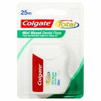 Colgate Dental Floss Total 25M Slides Easily Without Shredding