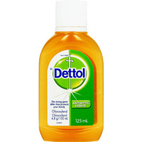 Dettol Antibacterial Liquid 125Ml