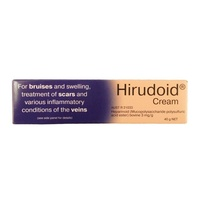 Hirudoid Cream 40G For Bruises, Scars And Veins