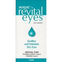 Murine Revital Eyes 15ML Soothes and Moistens Dry Eyes