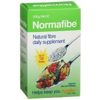 Normafibe Granules 500G Natural Fibre Daily Supplement Up To 100 Doses