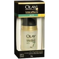 Olay Total Effects 7 in 1 Anti-aging Cream 50g SPF 15 UVA/UVB sunscreen