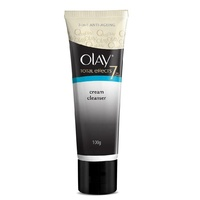 Olay Total Effects 7 in 1 Anti-aging Cream Cleanser 100G removes dirt,impurities