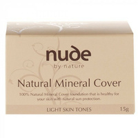 Nude By Nature Natural Mineral Light 15G a sheer to medium coverage