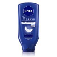 Nivea In Shower Body Lotion Dry 400ML For Very Dry Skin