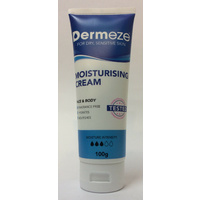 Dermeze Cream 100G Dry, sensitive or itchy skin on the body and face