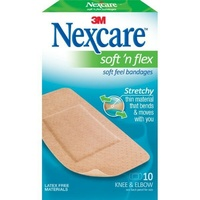 Nexcare Soft & Flex Bandages Large