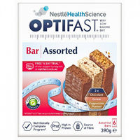 Optifast Assorted Bar 6 Pack convenient and ready to eat
