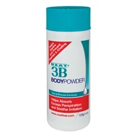 Neat 3B Body Powder 125G helps Absorb Excess Perspiration and Soothe Irritation