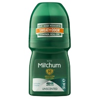 Mitchum Deodorant Roll-On Men Unscented 50Ml
