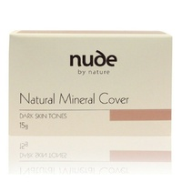 Nude By Nature Natural Mineral Cover 15g Dark Skin Tones