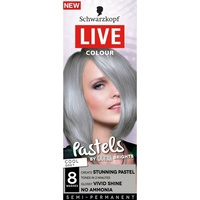 Schwarzkopf Live Colour Pastels Cool GreyToner long-lasting, glossy colour