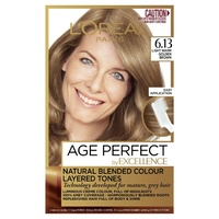 Loreal Excellence Age Perfect 6.13 Light Warm Golden Brown