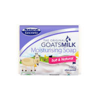 Natural Secrets Goatsmilk Soap 100G