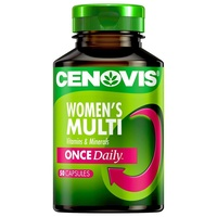 Cenovis Once Daily Womens Multi Capsules 50 Help calcium absorption