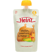 Heinz Chicken Sweet Corn and Mango 120G