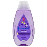Johnson's Baby Bath Bedtime Hypoallergenic 200mL Dermatologist-tested