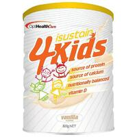 Isustain 4 Kids Vanilla 800g Additional Nutrients For Kids Poor Appetite