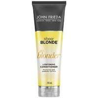 John Frieda Sheer Blonde Go Blonder Conditioner 250ml Lighten Blonde Strands