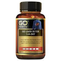 GO Healthy Liver Detox 1 A Day 60 Capsules Support Healthy Liver Function