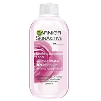 Garnier Skin Active Soothing Toner With Rose Water 200ml for Sensitive Skin