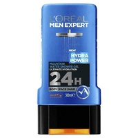 L'Oreal Men Expert Shower Gel Hydra Power 300ml Woody Fragrance