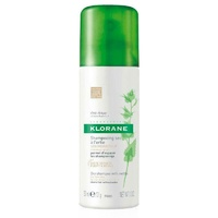 Klorane Oil Control with Nettle Tinted Dry Shampoo 50ml for Oily Hair