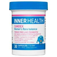 Inner Health Candex 30 Capsules Maintain Urinary Tract Vaginal Health