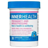 Inner Health Pregnancy and Breastfeeding 30 Capsules Support Baby Immunity