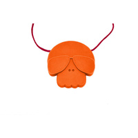 Jellystone New Skull Pendant Silicone Jewellery Non-Toxic for Juniors