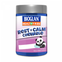 Bioglan Healthy Kids Rest + Calm Chewable 50S Supports Muscle Nerve Function